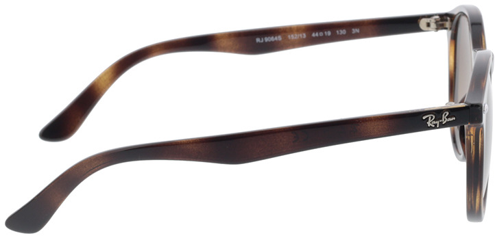 Picture of glasses model Ray-Ban Junior RJ9064S 152/13 44-19 in angle 90