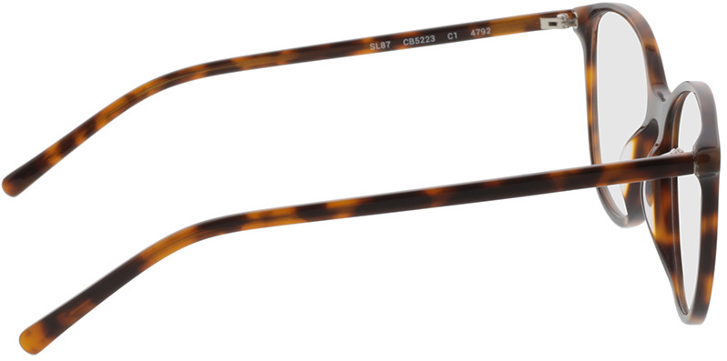 Picture of glasses model Bloomington-castanho-mosqueado in angle 90