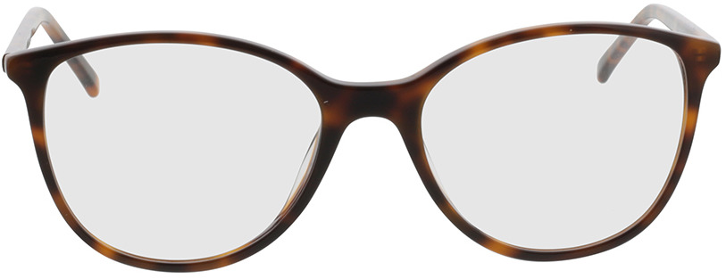 Picture of glasses model Bloomington-castanho-mosqueado in angle 0
