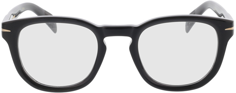 Picture of glasses model David Beckham DB 7050 BSC 47-22 in angle 0