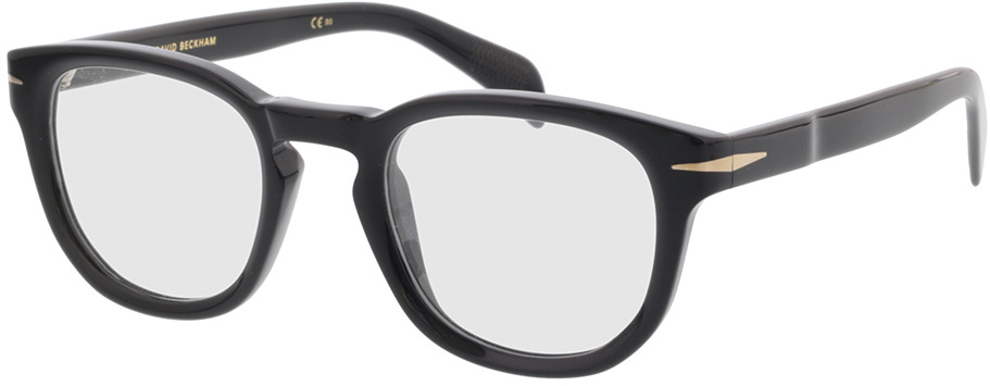 Picture of glasses model David Beckham DB 7050 BSC 47-22 in angle 330