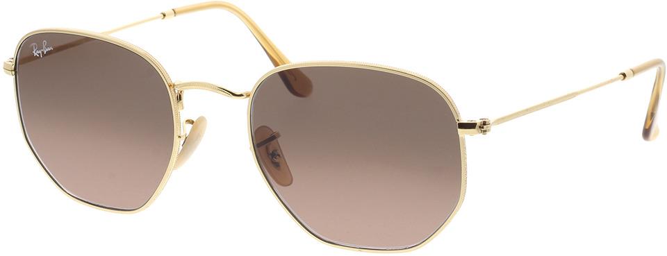 Picture of glasses model Ray-Ban Hexagonal Flat Lenses RB3548N 912443 54-21