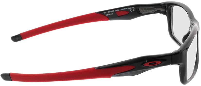 Picture of glasses model Oakley Crosslink Mnp OX8090 809003 53 17 in angle 90