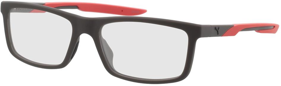 Picture of glasses model Puma PU0343O-002 56-17 in angle 330