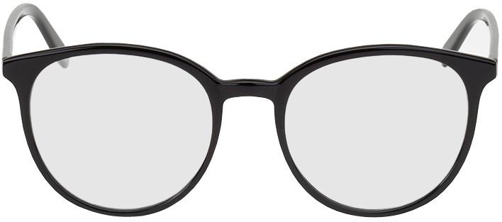 Picture of glasses model New York preto in angle 0