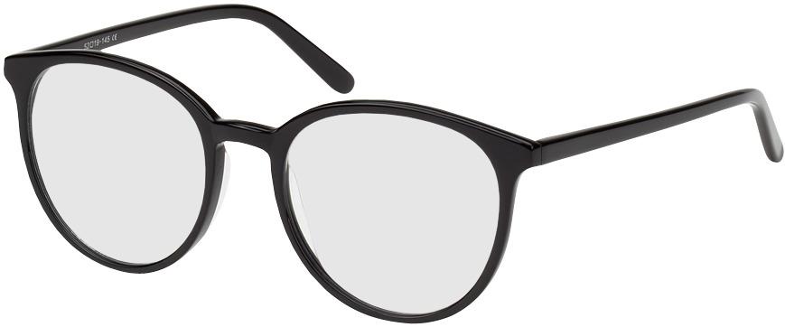 Picture of glasses model New York preto in angle 330