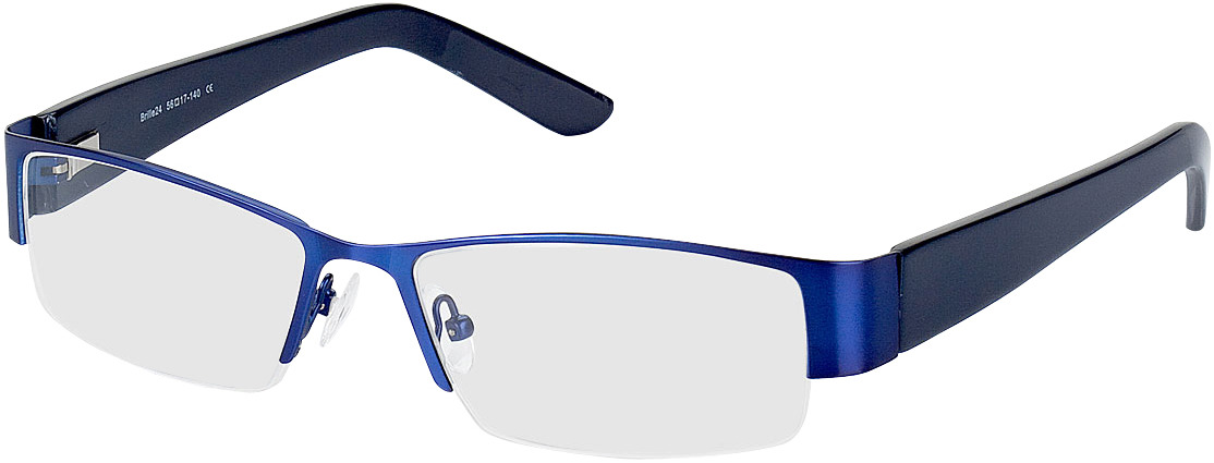 Picture of glasses model Billund-blau/dunkelblau in angle 330
