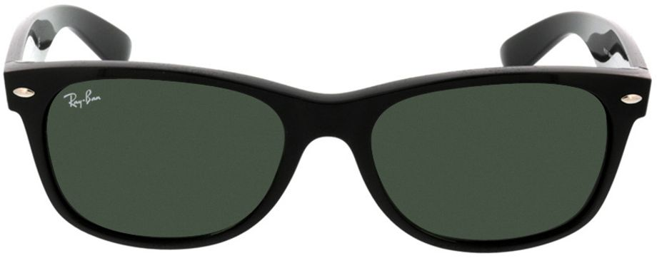 Picture of glasses model Ray-Ban New Wayfarer RB2132 901L 55-18 in angle 0