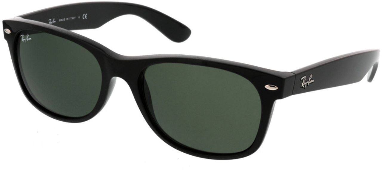Picture of glasses model Ray-Ban New Wayfarer RB2132 901L 55-18 in angle 330