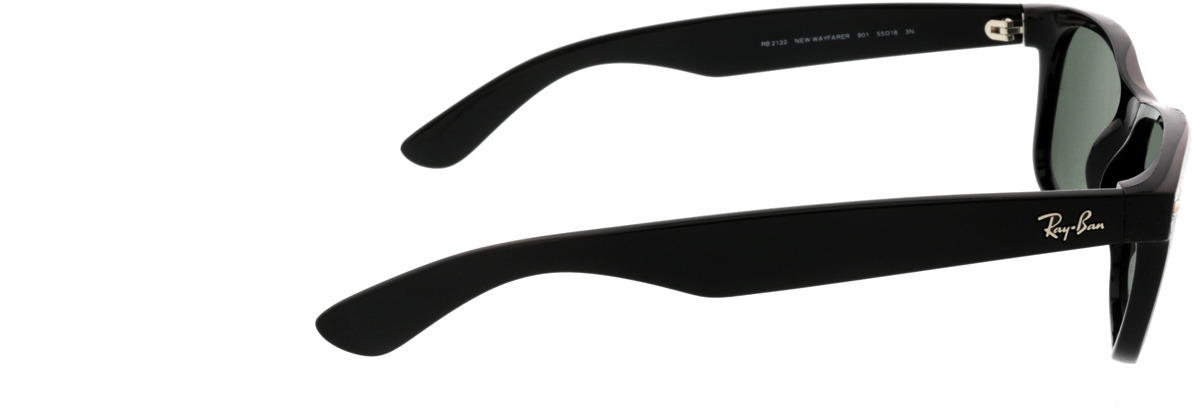 Picture of glasses model Ray-Ban New Wayfarer RB2132 901L 55-18 in angle 90