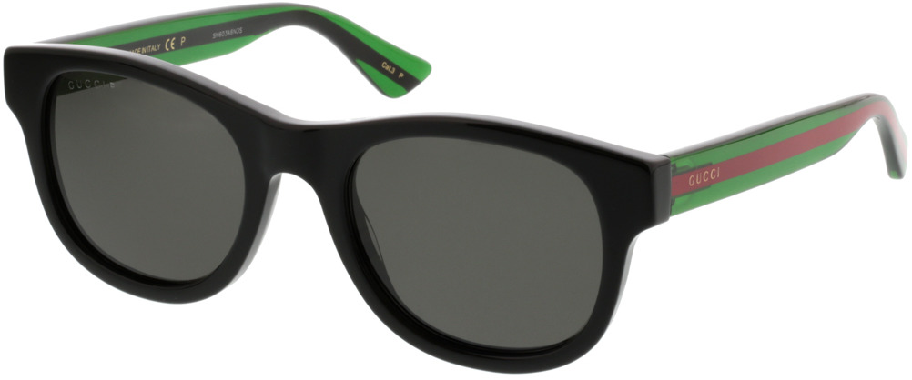 Picture of glasses model Gucci GG0003S-006 52-21 in angle 330