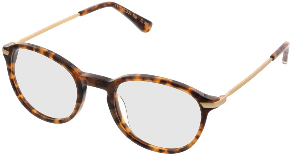 Picture of glasses model Superdry SDO Frankie havanna 102 48-21 in angle 330