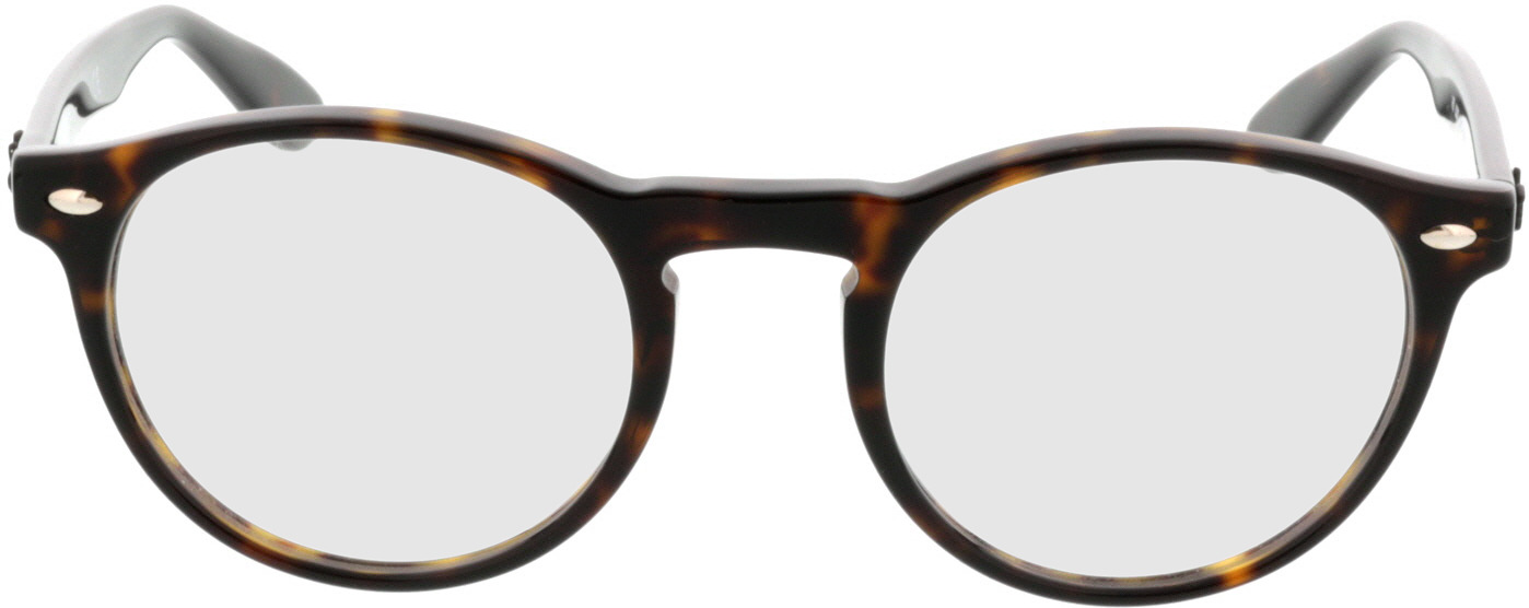 Picture of glasses model Ray-Ban RX5283 2012 49-21 in angle 0