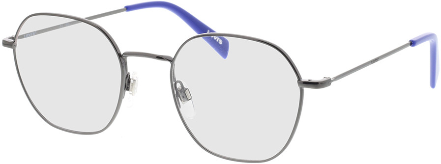 Picture of glasses model Levi's LV 1009 KJ1 51-20 in angle 330
