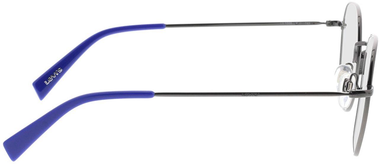 Picture of glasses model Levi's LV 1009 KJ1 51-20 in angle 90