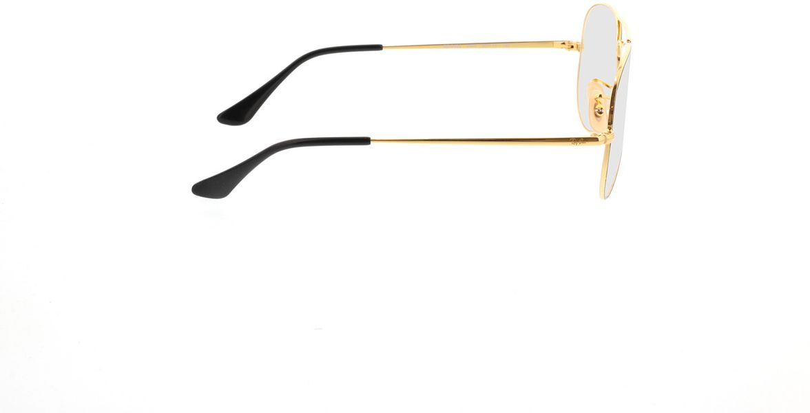 Picture of glasses model Ray-Ban Aviator RX6489 2946 55-14 in angle 90