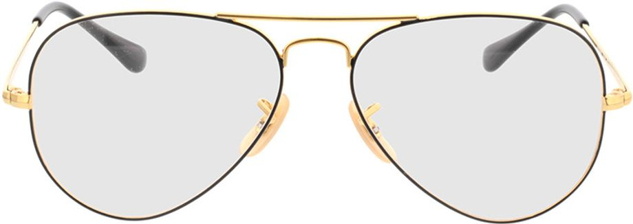 Picture of glasses model Ray-Ban Aviator RX6489 2946 55-14 in angle 0