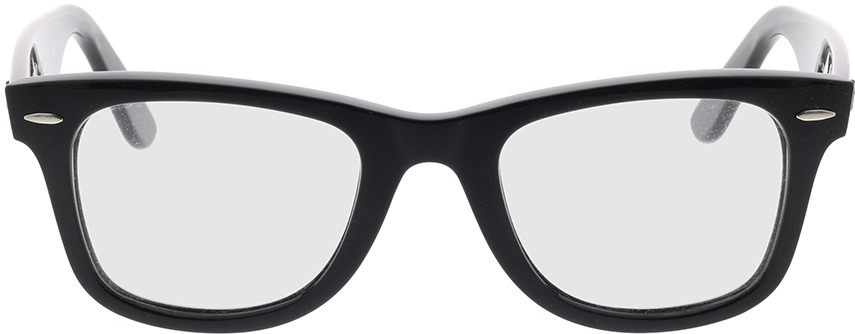 Picture of glasses model Ray-Ban Wayfarer Ease RX4340V 2000 50-22 in angle 0