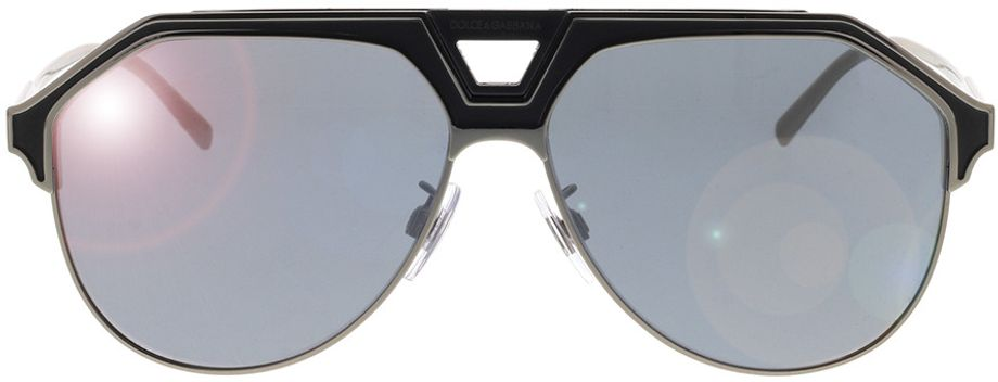 Picture of glasses model Dolce&Gabbana DG2257 12776G 60-13 in angle 0