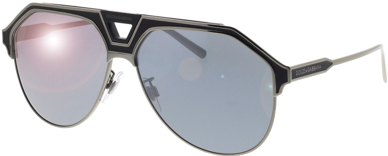 Picture of glasses model Dolce&Gabbana DG2257 12776G 60-13 in angle 330