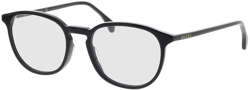 Picture of glasses model Gucci GG0551O-005 52-19 in angle 330