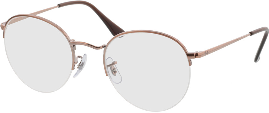 Picture of glasses model Ray-Ban Round Gaze RX3947V 2943 51-22 in angle 330