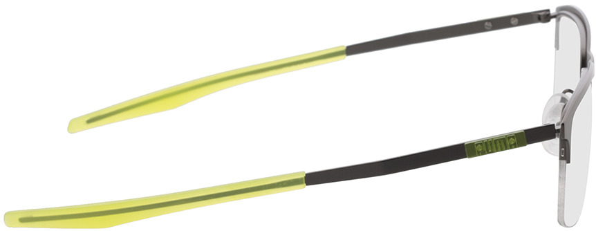 Picture of glasses model Puma PU0302O-003 57-18 in angle 90