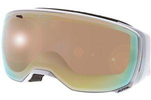 Alpina Skibrille ESTETICA HM Pearlwhite Mirror Orange