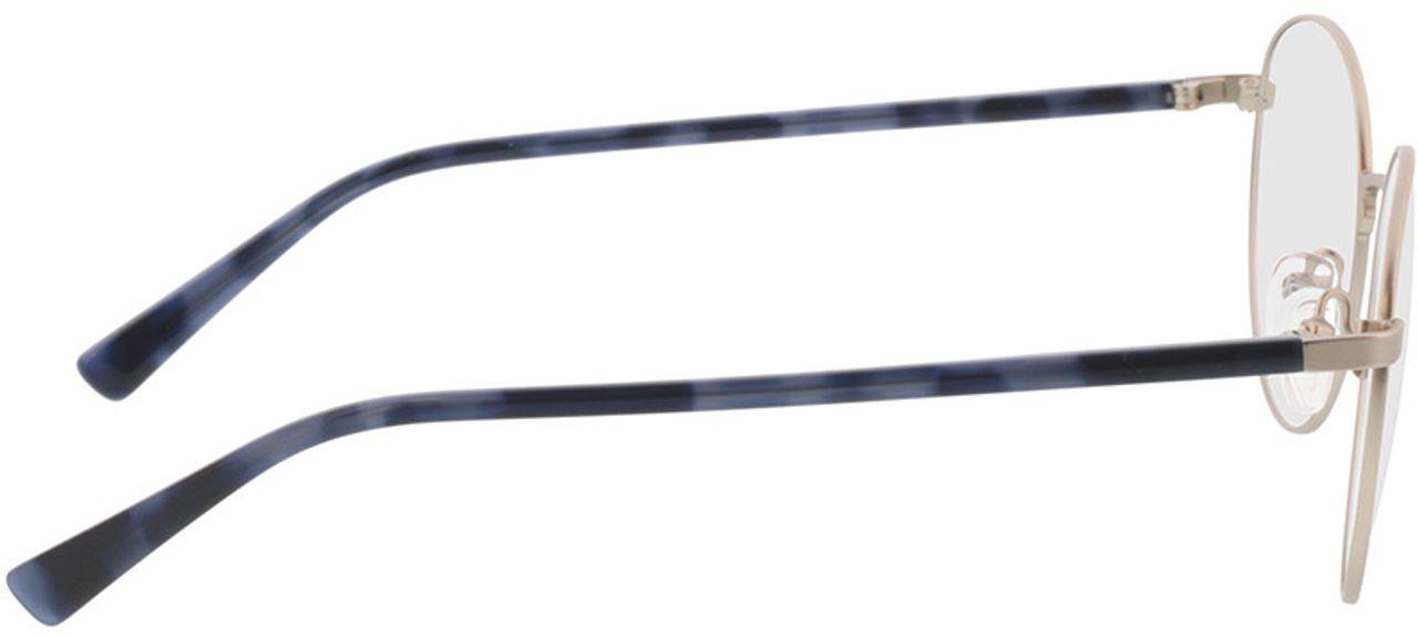 Picture of glasses model Kronos-silber/blau havana in angle 90