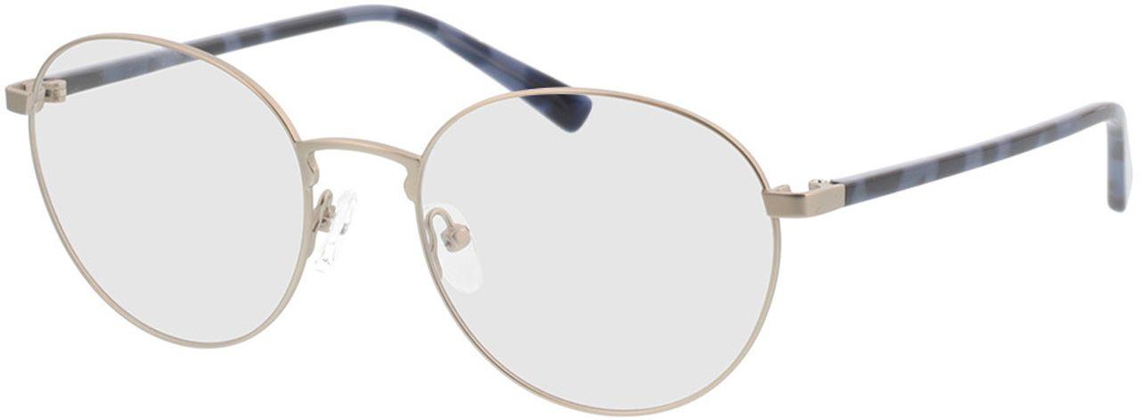 Picture of glasses model Kronos-silber/blau havana in angle 330