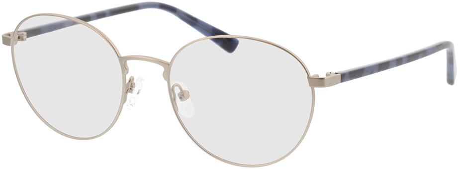 Picture of glasses model Kronos-prateado/azul Havanna in angle 330