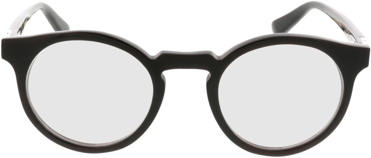 Picture of glasses model Wood Fellas Optical Stiglmaier dark brown 47-22 in angle 0