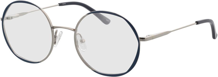 Picture of glasses model Selma-silber/blau in angle 330