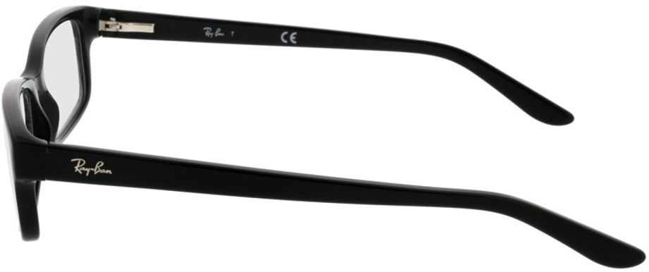 Picture of glasses model Ray-Ban RX5187 2000 52-16 in angle 270