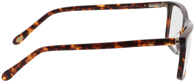 Picture of glasses model Fossil FOS 7090/G 086 55-17 in angle 90