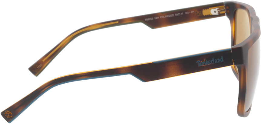 Picture of glasses model Timberland TB9253 52H 58-17 in angle 90
