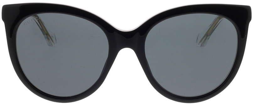 Picture of glasses model Gucci GG0565S-001 54-19 in angle 0