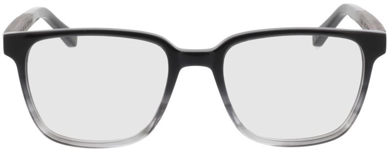 Picture of glasses model TAKE A SHOT Faro Grey Vanish RX: Schwarzes Eichenholz 50-19 in angle 0