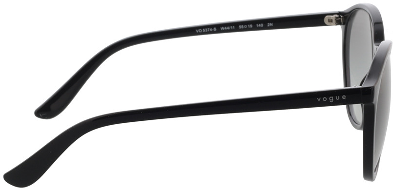 Picture of glasses model Vogue VO5374S W44/11 55-19 in angle 90