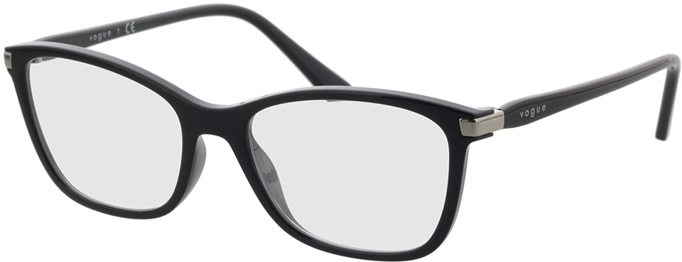 Picture of glasses model Vogue VO5378 W44 53 in angle 330