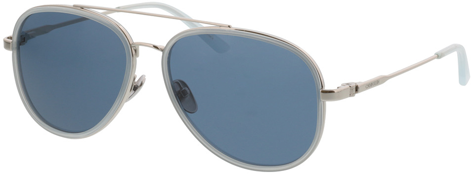 Picture of glasses model Calvin Klein CK38104 450 57-15 in angle 330