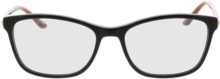 Picture of glasses model Terra-schwarz/braun in angle 0