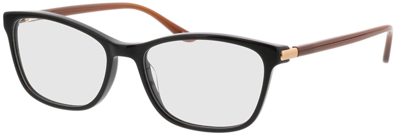 Picture of glasses model Terra-schwarz/rot in angle 330