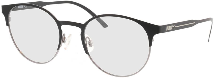 Picture of glasses model Puma PU0174O-001 53-21 in angle 330