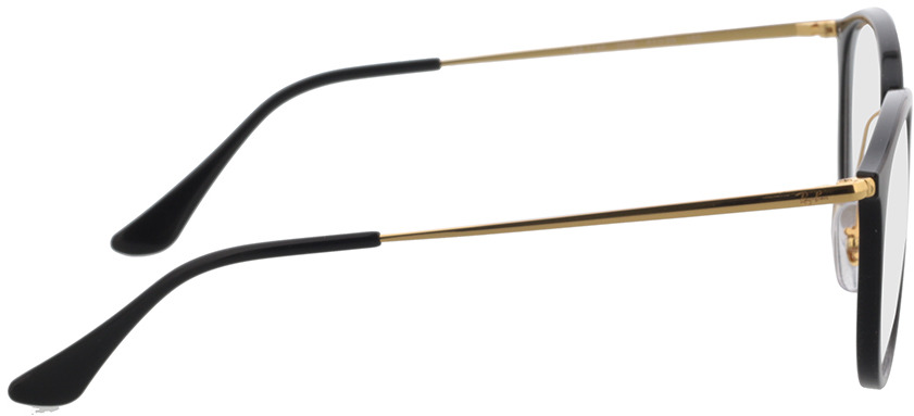 Picture of glasses model Ray-Ban RX7140 2000 51-20 in angle 90