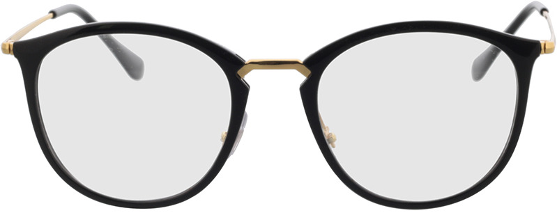 Picture of glasses model Ray-Ban RX7140 2000 51-20 in angle 0