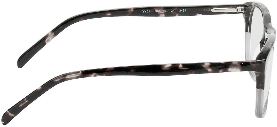 Picture of glasses model Imola-dunkelbraun-meliert/grau in angle 90