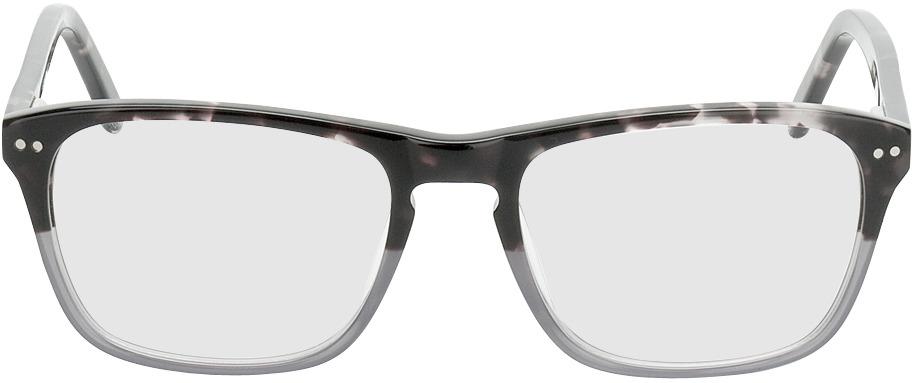 Picture of glasses model Imola-dunkelbraun-meliert/grau in angle 0