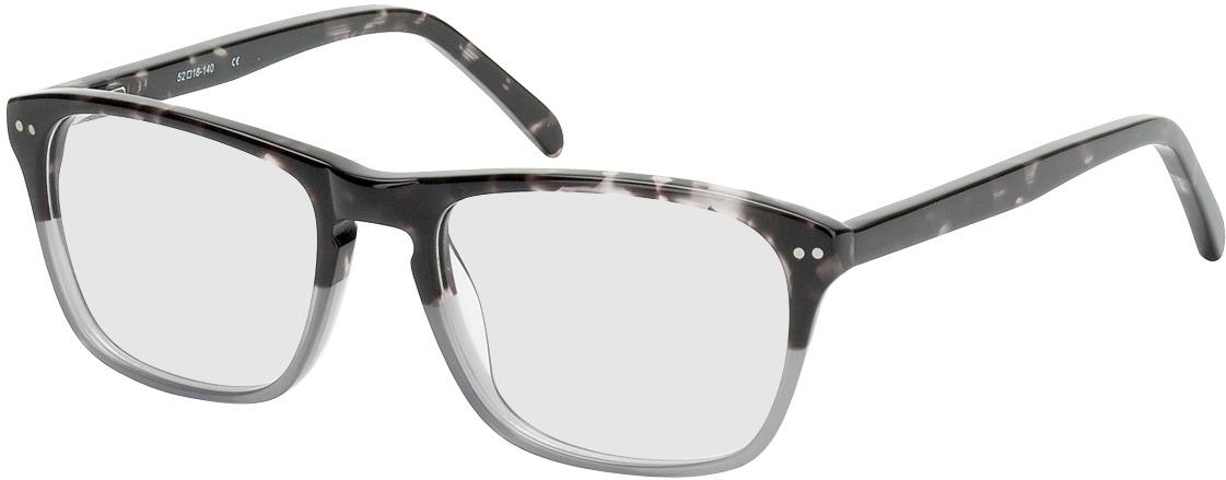 Picture of glasses model Imola-dunkelbraun-meliert/grau in angle 330