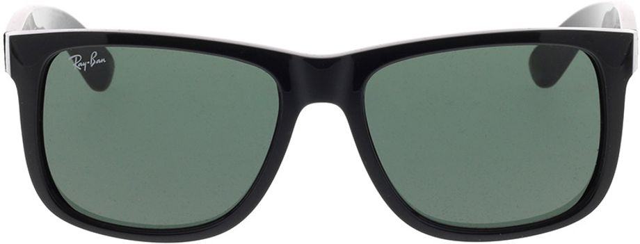 Picture of glasses model Ray-Ban Justin RB4165 601/71 54-16 in angle 0